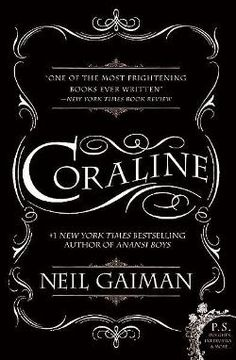 """Coraline passes through a door in the drawing room of her new home to a very similar house with an """"other mother"""" and an """"other father."""" What started out as a world set slightly askew turns nightmarish as Coraline joins the creepy other mother in a game of hide-and-seek for her real parents--winner take all. The danger and the heroine are convincing; the whirlwind denouement will leave readers bemused but elated and slightly breathless. Gr5+"""