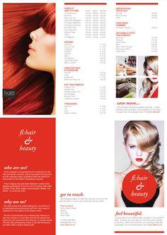 fl:hair & beauty - C-Fold pricelist