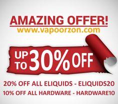 24 Best Vapoorzon - Coupon code, Deals & Discounts images in