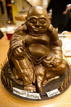 Buddha Birthday cake for my 21st