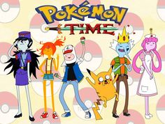 Pokemon time. So much yes. Lol Ice king would so be Brock lol