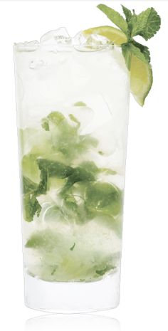 SKINNYGIRL CUCUMBER REFRESHER  4 mint leaves  1 large basil leaf  1 lime wedge  1½ parts Skinnygirl Cucumber Vodka  3 parts soda water  ½ tsp. agave nectar. Garnish with lime wedge. Skinnygirl™ Cucumber Vodka with Natural Flavors, 30% Alc./Vol. ©2013 Skinnygirl Cocktails, Deerfield, IL (Per 1.5 oz – Average Analysis: Calories 75.8, Carbohydrates 0g, Protein 0g, Fat 0g) A LADY ALWAYS DRINKS RESPONSIBLY™