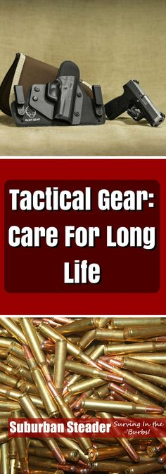 Do you know how to care for your tactical gear? It's protective & durable, but costly! Make sure you can care for your tactical gear so it can care for you!