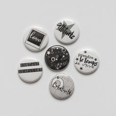"""Badges """"Moderne"""""""