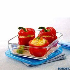 Borosil Square Dish 3-In-1 With Lid 750 ML