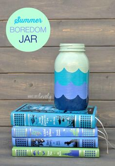Have fun all summer long with this Summer Bored Jar using #ShapeTape via @MakeLifeLovely