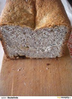 můj první makovec dělaný v pekárně Banana Bread