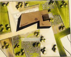 Landmark#multipurpose hall#landscape#mass plan#render#markers