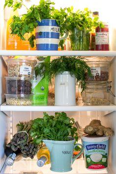How to keep fresh herbs| kitchentablefood.com