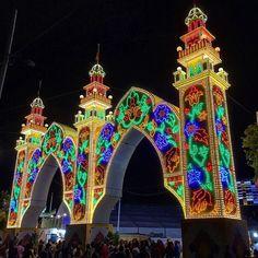 Puerta de la feria de #Mérida
