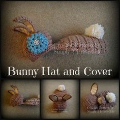 Image of Bunny Set - Quick and Easy - Crochet Pattern #121