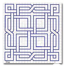 Doodle art 144467100531855863 - geometric-art-geometric-patterns Source by alinesilhouette Blackwork Patterns, Blackwork Embroidery, Celtic Patterns, Paper Embroidery, Zentangle Patterns, Cross Stitch Patterns, Quilt Patterns, Doodle Patterns, Geometric Patterns