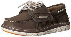 Sperry Top-Sider Billfish Sport JR Boat Shoe (Toddler/Little Kid) ** More info could be found at the image url. Kids Reading, Side Panels, Shoe Storage, Sperry Top Sider, Sperrys, Boat Shoes, Fashion Shoes, Heels, Sneakers