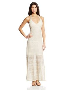 XOXO Juniors Halter Pointelle Maxi Dress Dres, Ivory, Small XOXO http://www.amazon.com/dp/B00HF02TMK/ref=cm_sw_r_pi_dp_RbFBub02HW028