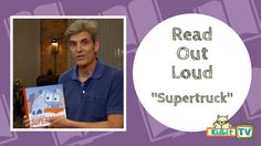 Author and illustrator Stephen Savage reads Supertruck, the story of a garbage truck who teaches children heroes come in many shapes, sizes, and abilities.