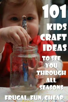 All your easy kids crafts ideas sorted. This page has so many easy kids crafts, you will be busy for years to come. Something to suit all seasons, materials Kids Crafts, Craft Activities For Kids, Crafts To Do, Toddler Activities, Projects For Kids, Diy For Kids, Craft Ideas, Toddler Preschool, 4 Kids