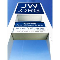 New sign is up today (May 11, 2015) at the Newburgh, New York facility where Warwick volunteers are housed.