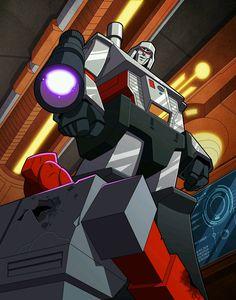 "Megatron. ""...Such heroic nonsense."""