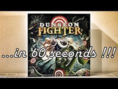 Dungeon Fighter - Board Game Roundup in 60s