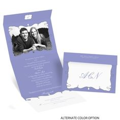 Whimsy Frames - Seal and Send Invitation   Invitations By Dawn