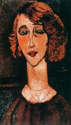 Amadeo Modigliani – Renée The Blonde
