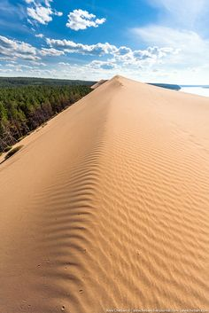 Sand Dunes in Siberia, Russia   . Photos by Alex Cheban