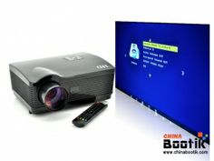 "LED HD Projector ""HD Panther"" - 2000:1, 3000 ANSI Lumens, 1280x768, DVB-T #projector"