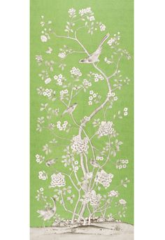 Chinois Palais in Lettuce, 175040.  http://www.fschumacher.com/search/ProductDetail.aspx?sku=175040  #Schumacher