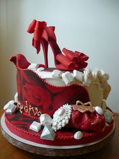 Shoe Diva Cake Cake by DeliciousDeliveries Cakes I want to create