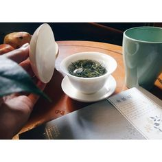 Stop in stopover for a gaiwan of tea.It's 2018 Emei Shan (Sichuan province) green tea, pre Qing Ming festival green tea. One of the best thing about this tea is the smell of dry leaves, smell of homemade sun-dried apples. Dried Apples, Dry Leaf, Chinese Tea, Sun Dried, Tea Time, The Best, Leaves, Homemade, Tableware