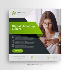 Social Media Poster, Social Media Banner, Social Media Template, Social Media Design, Business Marketing, Social Media Marketing, Digital Marketing, Instagram Square, Booklet Design