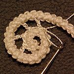 Romanian Point Lace ~~ Design & crochet lace by Victoria Belvet