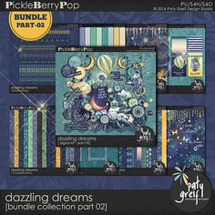 "Dazzling Dreams ""Bundle Collection Part 02"" by Paty Greif"