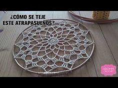 fet a la Sun Crochet Home, Love Crochet, Crochet Motif, Knit Crochet, Crochet Patterns, Macrame Projects, Crochet Projects, Crochet Mandela, Crochet Dreamcatcher