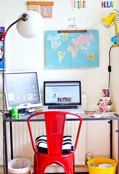 cool desk space