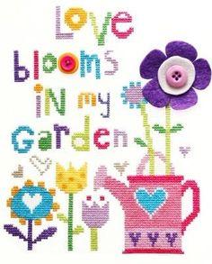 Love Blooms -  Cross Stitch Kit *NEW*