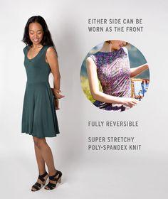 Round-Trip Dress (Prickled-Purple)
