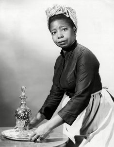 Actress Thelma 'Butterfly' McQueen was born 1-7-1911. She's of course best remembered for her role as Prissy in Gone With the Wind. She passed in 1995.