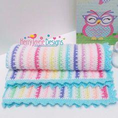 Ice cream blanket Crochet Pattern