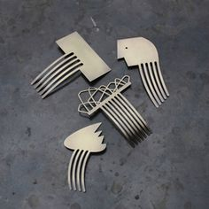 Image of Hair Combs by WSAKE