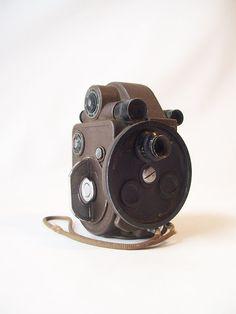 vintage 8mm movie camera
