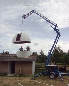 Construction of Bear Creek Observatory