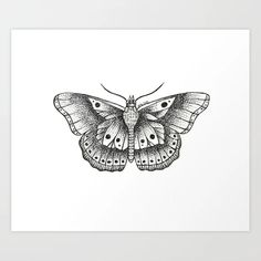 Harry Styles butterfly Art Print by adelef Dainty Tattoos, Pretty Tattoos, Small Tattoos, One Direction Tattoos, One Direction Drawings, One Direction Art, Harry Tattoos, Harry Styles Tattoos, Harry Styles Butterfly