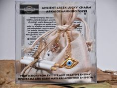 Items similar to Ancient Greek Lucky Charm. Protection from the evil eye and any negative energy. on Etsy Good Luck Wishes, Pliny The Elder, Spiritual Cleansing, Classical Antiquity, Cast Off, Lucky Charm, Ancient Greek, Evil Eye, At Least