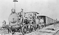 - Victorian Railways F-class Pattern Steam Locomotive with Mixed Passenger & Goods Train, Victoria, circa 1875 Holland, Train Tour, Old Trains, Vintage Trains, History Of India, Train Engines, Steam Locomotive, Train Tracks, Old Photos
