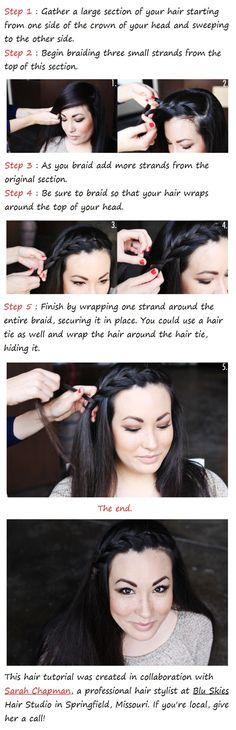 The Side Braid : hair tutorial