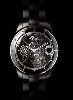 Chanel J12 Rétrograde Mystérieuse Tourbillon Watch