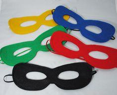 Super Hero Masks - Tutu and Dress Up Accessory