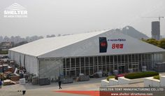 Large #clearspantent are popular among large events like car shows and exhibitions. #carshowtent #tentforexhibition #eventmarquees #tradeshowmarquee http://www.shelter-structures.com/commercial-tent-trade-show-marquee Email: marketing1@shelter-structures.com