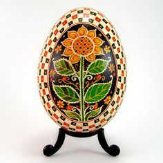 ukrainian eggs | ... Handmade Traditional Ukrainian Goose Egg | Flickr - Photo Sharing